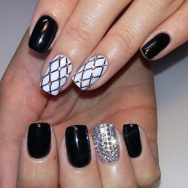 Идеи для дизайна ногтей.